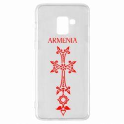 Чехол для Samsung A8+ 2018 Armenia