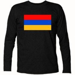 Футболка с длинным рукавом Армения - FatLine