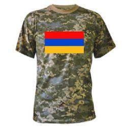 Камуфляжная футболка Армения - FatLine