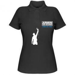 Женская футболка поло Armin Imagine - FatLine