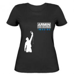 Женская футболка Armin Imagine - FatLine