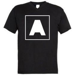 Чоловіча футболка з V-подібним вирізом Armin van Buuren 1