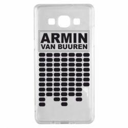 Чехол для Samsung A5 2015 Armin Van Buuren Trance