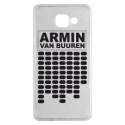 Чехол для Samsung A5 2016 Armin Van Buuren Trance