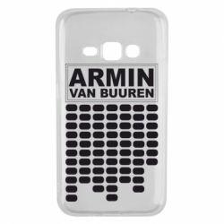 Чехол для Samsung J1 2016 Armin Van Buuren Trance