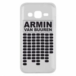 Чехол для Samsung J2 2015 Armin Van Buuren Trance