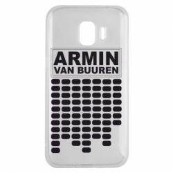 Чехол для Samsung J2 2018 Armin Van Buuren Trance