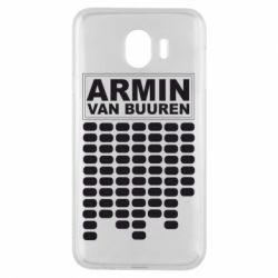 Чехол для Samsung J4 Armin Van Buuren Trance