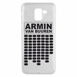 Чехол для Samsung J6 Armin Van Buuren Trance