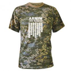 Камуфляжная футболка Armin Van Buuren Trance