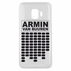 Чехол для Samsung J2 Core Armin Van Buuren Trance