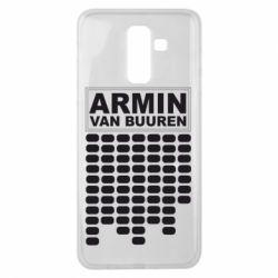 Чехол для Samsung J8 2018 Armin Van Buuren Trance