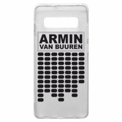 Чехол для Samsung S10+ Armin Van Buuren Trance