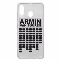 Чехол для Samsung A20 Armin Van Buuren Trance