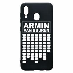Чехол для Samsung A30 Armin Van Buuren Trance