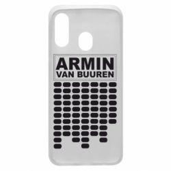 Чехол для Samsung A40 Armin Van Buuren Trance