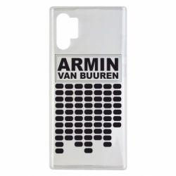 Чехол для Samsung Note 10 Plus Armin Van Buuren Trance