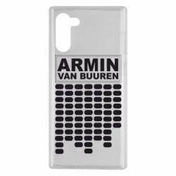 Чехол для Samsung Note 10 Armin Van Buuren Trance