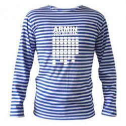 Тельняшка с длинным рукавом Armin Van Buuren Trance - FatLine