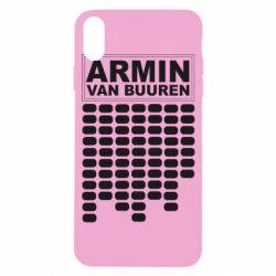 Чехол для iPhone X/Xs Armin Van Buuren Trance