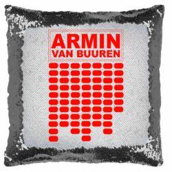 Подушка-хамелеон Armin Van Buuren Trance
