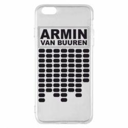 Чехол для iPhone 6 Plus/6S Plus Armin Van Buuren Trance