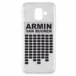 Чехол для Samsung A6 2018 Armin Van Buuren Trance