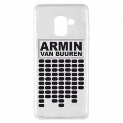 Чехол для Samsung A8 2018 Armin Van Buuren Trance