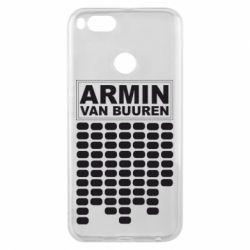 Чехол для Xiaomi Mi A1 Armin Van Buuren Trance