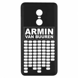 Чехол для Xiaomi Redmi Note 4x Armin Van Buuren Trance