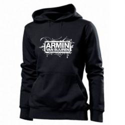 Женская толстовка Armin Van Buuren - FatLine