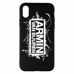 Чехол для iPhone X/Xs Armin Van Buuren
