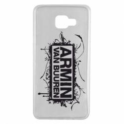 Чехол для Samsung A7 2016 Armin Van Buuren