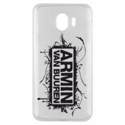 Чехол для Samsung J4 Armin Van Buuren