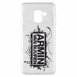 Чехол для Samsung A8 2018 Armin Van Buuren