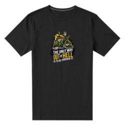 Мужская стрейчевая футболка Армия