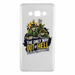 Чехол для Samsung A7 2015 Армия