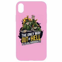 Чехол для iPhone XR Армия