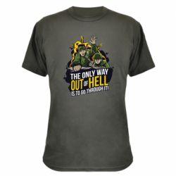 Камуфляжная футболка Армия