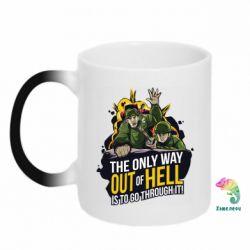 Кружка-хамелеон Армия