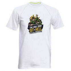 Мужская спортивная футболка Армия