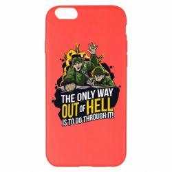 Чехол для iPhone 6 Plus/6S Plus Армия