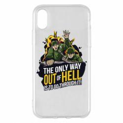Чехол для iPhone X/Xs Армия