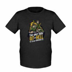 Детская футболка Армия