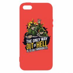 Чехол для iPhone5/5S/SE Армия