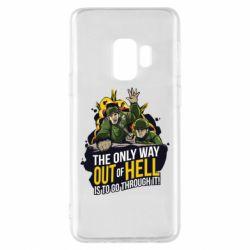 Чехол для Samsung S9 Армия