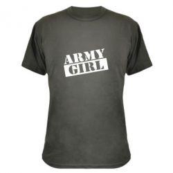 Камуфляжная футболка Army girl