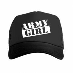 Кепка-тракер Army girl