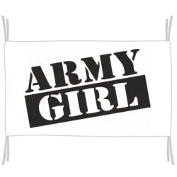Прапор Army girl