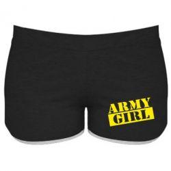 Женские шорты Army girl